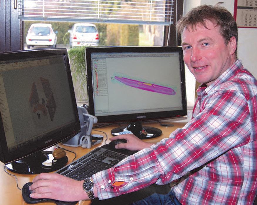 Der Marbecker Tischlermeister Thomas Cluse reizt die Grenzen der CAD- und CNCTechnik aus. Dabei kommen einzigartige Objekte und Formgebungen heraus – aus Holz, aber auch aus anderen Materialien.